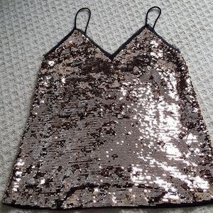 Women's Sequin Tank Top